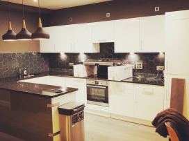 Decorating and refurbishment of kitchen